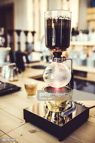 Café preparación con Encapsulado al vacío de