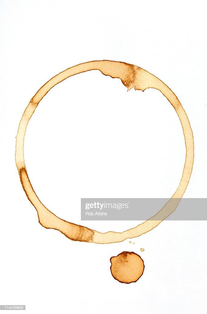 Coffee Ring : Stock Photo