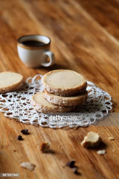 Coffee Sable - Shortbread Cookies