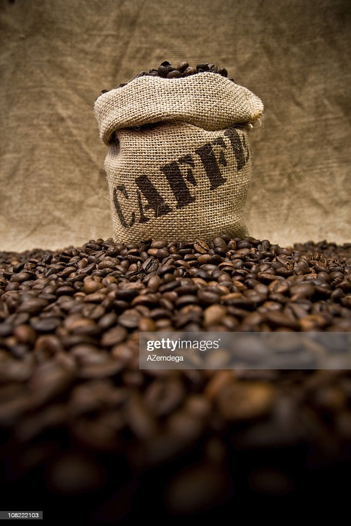 Coffee sack : Stock Photo