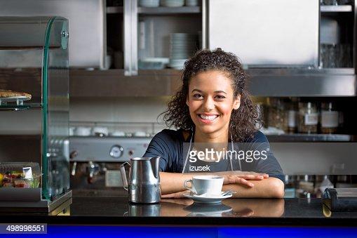 Coffee shop employee