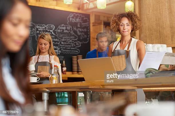 Coffee shop entrepreneur