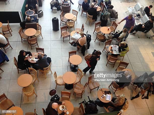 Coffee shop in Dublin Airport