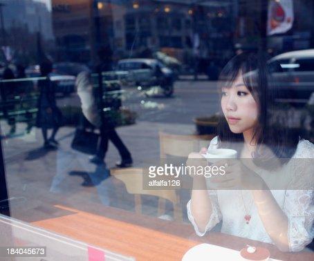 Coffee shop in Seoul
