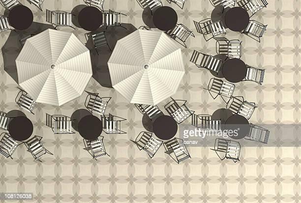 Café sépia texture