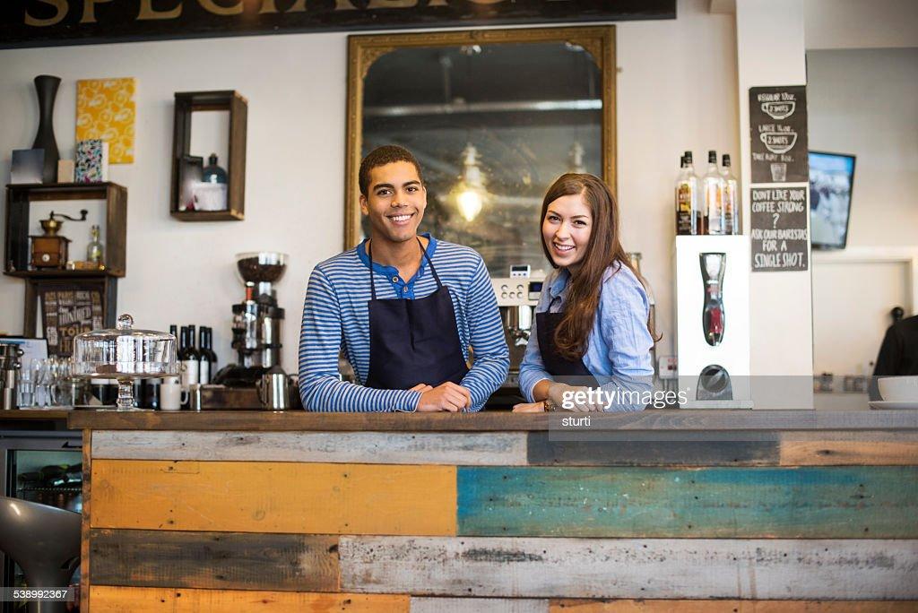 coffee shop teenagers