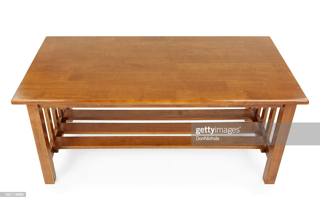 Coffee Table Isolated
