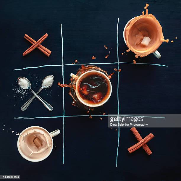 Coffee Tic-tac-toe