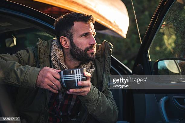 Coffee time on the road