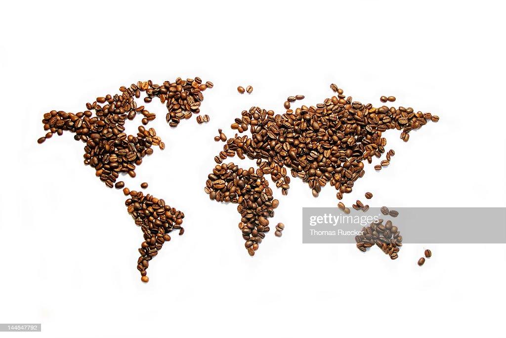 Coffee world : Stock Photo