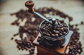 coffees on wood board