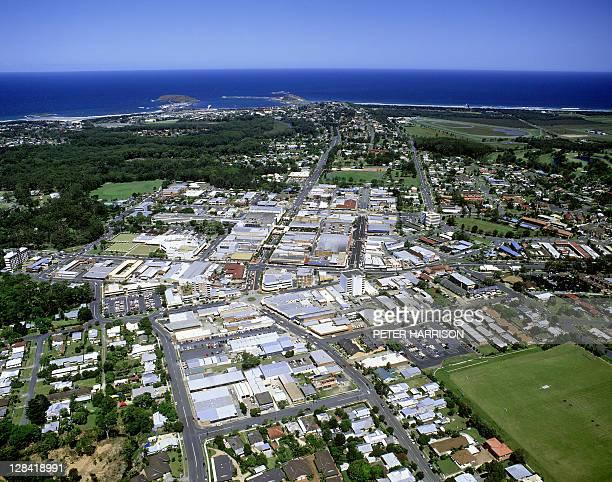 coffs harbour, australia (aerial)