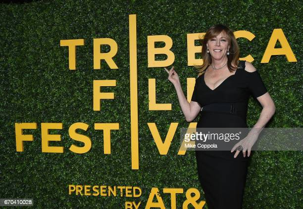 Cofounded the Tribeca Productions film studio and producer Jane Rosenthal attends the 'Clive Davis The Soundtrack Of Our Lives' Premiere at Radio...