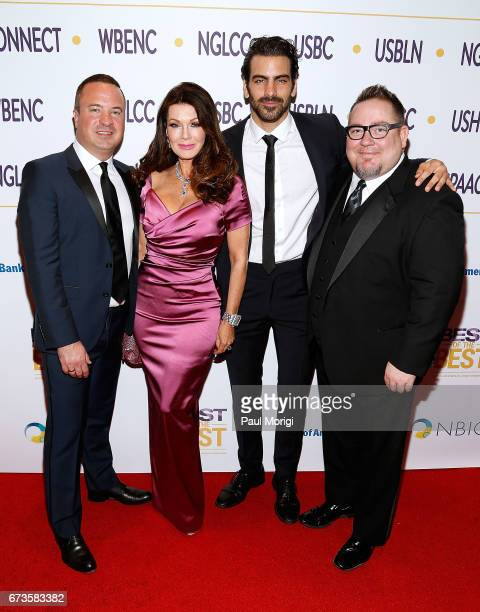 NGLCC CoFounder and CEO Chance Mitchell Entrepreneur and LGBT advocate Lisa Vanderpump Advocate for the deaf community and model Nyle DiMarco and...