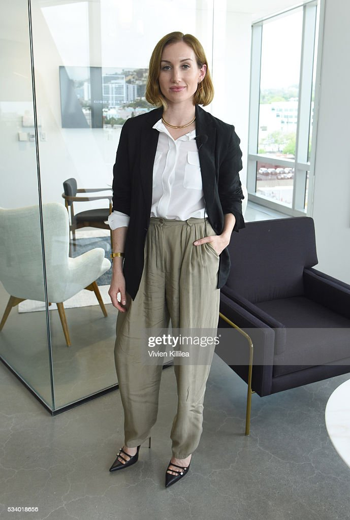 Co-founder and CEO of Clique Media Group Katherine Power attends the Fast Company Creativity Counter-Conference 2016 on May 24, 2016 in Los Angeles, California.