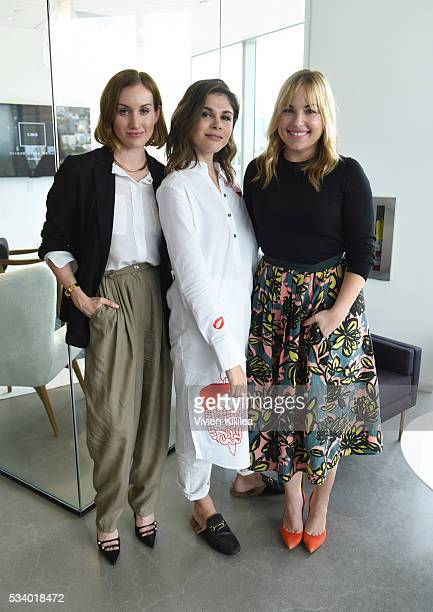 Cofounder and CEO of Clique Media Group Katherine Power Founder and CEO of Into the Gloss and Glossier Emily Weiss and cofounder of Clique Media...