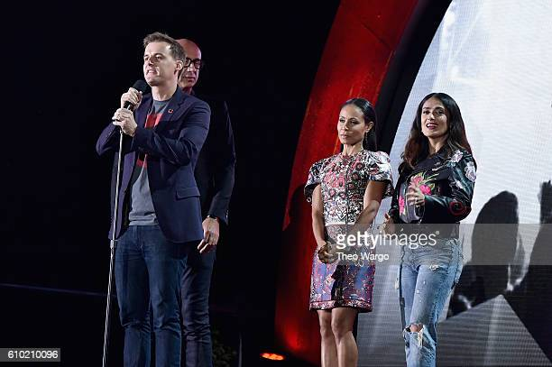 Cofounder and CEO of Global Citizen Hugh Evans speaks onstage at the 2016 Global Citizen Festival In Central Park To End Extreme Poverty By 2030 at...