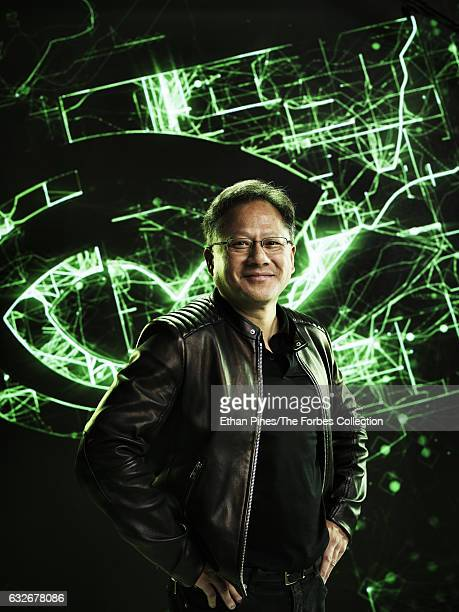 Cofounder and CEO of Nvidia JenHsun Huang is photographed for Forbes Magazine on November 11 2016 in Santa Clara California CREDIT MUST READ Ethan...