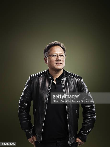 Cofounder and CEO of Nvidia JenHsun Huang is photographed for Forbes Magazine on November 11 2016 in Santa Clara California PUBLISHED IMAGE CREDIT...