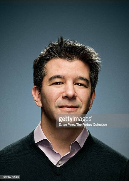 Cofounder and CEO of Uber Travis Kalanick is photographed for Forbes Magazine on November 21 2016 in San Francisco California COVER IMAGE CREDIT MUST...