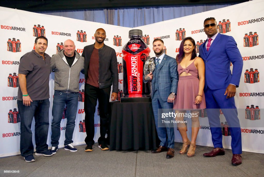 """Kobe Bryant and BODYARMOR to Announce Partnerships With 4 UFC Fighters and Unveil New UFC Flavor """"Knockout Punch"""""""
