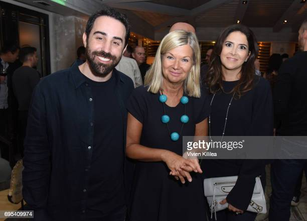 Cofounder and coCEO of Riot Games Brandon Beck BAFTA Los Angeles CEO Chantal Rickards and Natasha Beck attend BAFTA Honours Riot Games with Special...