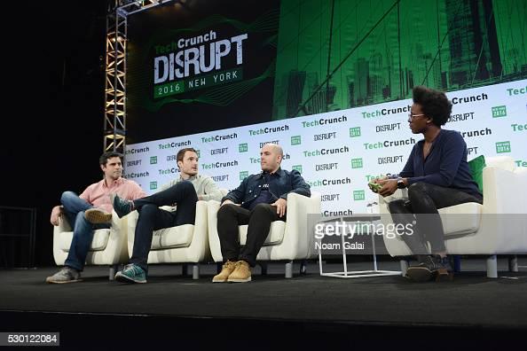 Cofounder and CTO of BlueApron Ilia Papas founder and CEO of Maple Caleb Merkl cofounder and coCEO of SweetGreen Nicolas Jammet and TechCrunch writer...