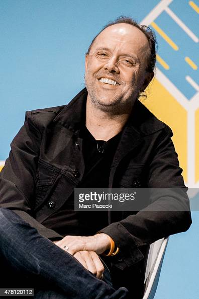 Cofounder and drummer of 'Metallica' Lars Ulrich attends the 'Cannes Lions Festival' on June 22 2015 in Cannes France