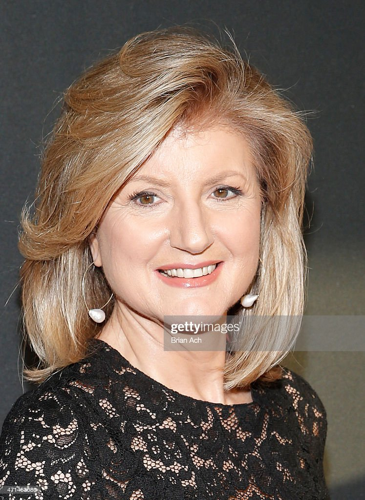 Co-founder and editor-in-chief of The Huffington Post <a gi-track='captionPersonalityLinkClicked' href=/galleries/search?phrase=Arianna+Huffington&family=editorial&specificpeople=204730 ng-click='$event.stopPropagation()'>Arianna Huffington</a> attends the AOL 2015 Newfront on April 28, 2015 in New York City.