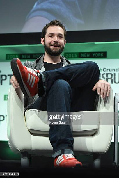 CoFounder and Executive Chair of Reddit and Partner at Y Combinator Alexis Ohanian speaks onstage during TechCrunch Disrupt NY 2015 Day 3 at The...