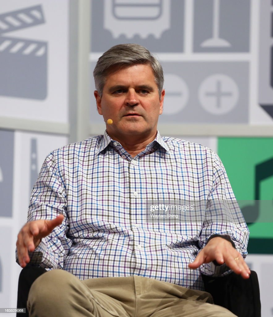 Co-founder and former chief executive officer and chairman of America Online Steve Case speaks at A Conversation With Steve Case during the 2013 SXSW Music, Film + Interactive Festival at Austin Convention Center on March 11, 2013 in Austin, Texas.