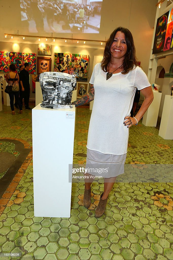 Co-Founder and Global CEO of Keep A Breast Shaney Jo Darden at American Rag and Lab ART present 'Keep Breast' an Americana themed art exhibition for Breast Cancer Prevention Month at LAB ART on September 29, 2012 in Los Angeles, California.