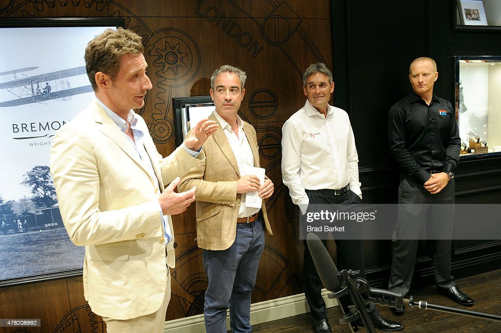 CoFounder Bremont Watch Company Nick English CoFounder Bremont Watch Company Giles English Oracle Team USA CEO Russell Coutts and Oracle Team USA...