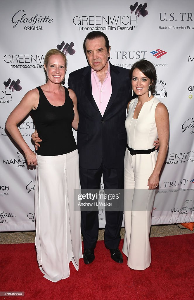 GIFF cofounder Colleen deVeer actor Chazz Palminteri and GIFF cofounder Wendy Stapleton Reyes attend Greenwich Film Festival 2015 All Things Must...