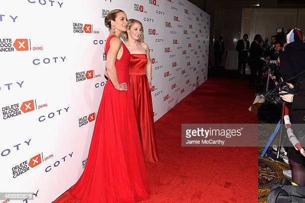Cofounder Delete Blood Cancer Katharina Harf and CEO Delete Blood Cancer Carina Ortel attend the 9th Annual Delete Blood Cancer Gala on April 16 2015...