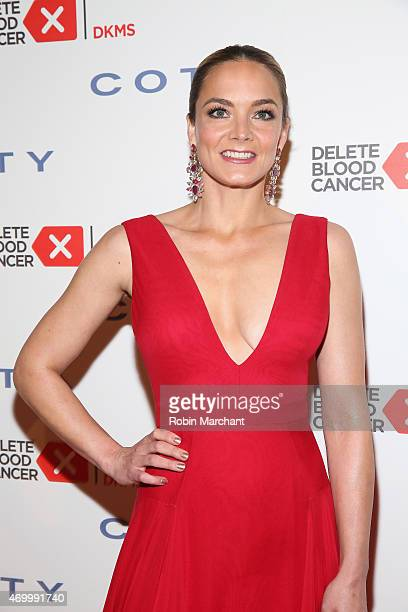 Cofounder Delete Blood Cancer Katharina Harf attends the 9th Annual Delete Blood Cancer Gala on April 16 2015 in New York City