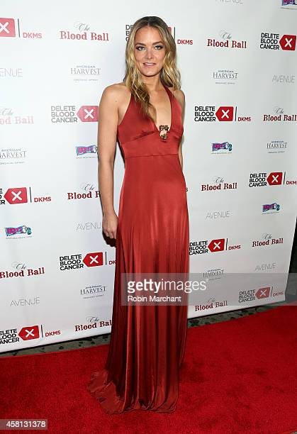 Cofounder Delete Blood Cancer Katharina Harf attends The Blood Ball to benefit Delete Blood Cancer at The Box on October 30 2014 in New York City