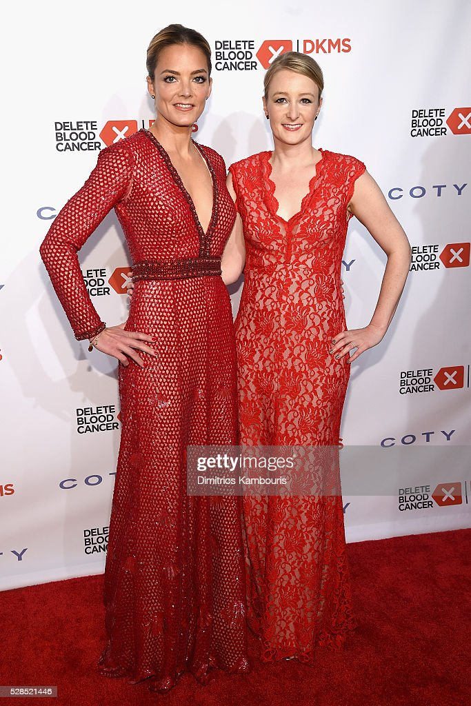 Co-founder, DKMS <a gi-track='captionPersonalityLinkClicked' href=/galleries/search?phrase=Katharina+Harf&family=editorial&specificpeople=5332086 ng-click='$event.stopPropagation()'>Katharina Harf</a> and CEO, DKMS Carina Ortel attend the 10th Annual Delete Blood Cancer DKMS Gala at Cipriani Wall Street on May 5, 2016 in New York City.