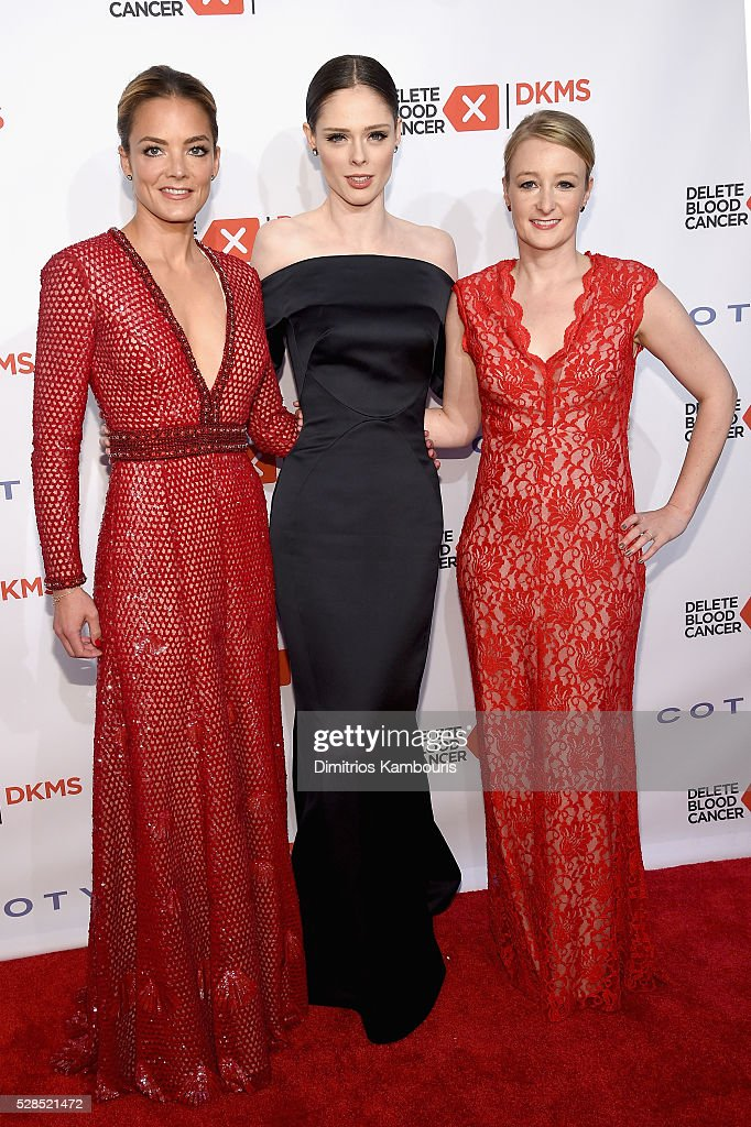 Co-founder, DKMS <a gi-track='captionPersonalityLinkClicked' href=/galleries/search?phrase=Katharina+Harf&family=editorial&specificpeople=5332086 ng-click='$event.stopPropagation()'>Katharina Harf</a>, <a gi-track='captionPersonalityLinkClicked' href=/galleries/search?phrase=Coco+Rocha&family=editorial&specificpeople=4172514 ng-click='$event.stopPropagation()'>Coco Rocha</a> and CEO, DKMS Carina Ortel attend the 10th Annual Delete Blood Cancer DKMS Gala at Cipriani Wall Street on May 5, 2016 in New York City.