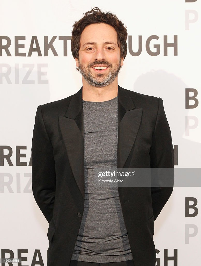 Co-Founder, Google, <a gi-track='captionPersonalityLinkClicked' href=/galleries/search?phrase=Sergey+Brin&family=editorial&specificpeople=753551 ng-click='$event.stopPropagation()'>Sergey Brin</a> attends the 2016 Breakthrough Prize Ceremony on November 8, 2015 in Mountain View, California.