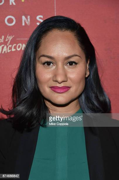 CoFounder Justice League NYC Carmen Perez attends 'Latin History For Morons' Broadway Opening Night at Studio 54 on November 15 2017 in New York City