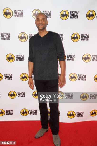 CoFounder Karim Webb attends the Buffalo Wild Wings Opening In Koreatown at Buffalo Wild Wings on August 26 2017 in Los Angeles California