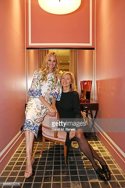 CoFounder Lauren Santo Domingo and CEO Deborah Nicodemus attend the M'oda 'Operandi launch on September 12 2014 in London England