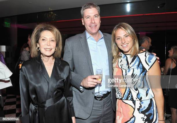 WCRF CoFounder Marion Laurie Scott Laurie and Rory Laurie at SAKS FIFTH AVENUE and WOMENS CANCER RESEARCH FUND celebration of KEY TO THE CURE with...