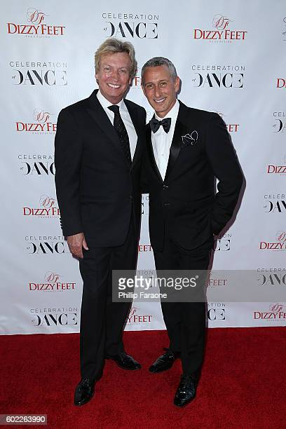 Cofounder Nigel Lythgoe and Adam Shankman attend the 6th Annual Celebration of Dance Gala presented by The Dizzy Feet Foundation at The Novo by...