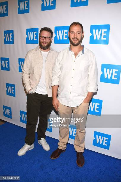 Cofounder of And Action Evan Goldberg and Seth Rogen walk the WE Carpet at Cinemark Playa Vista and XD Visit weorg/andaction for more information at...