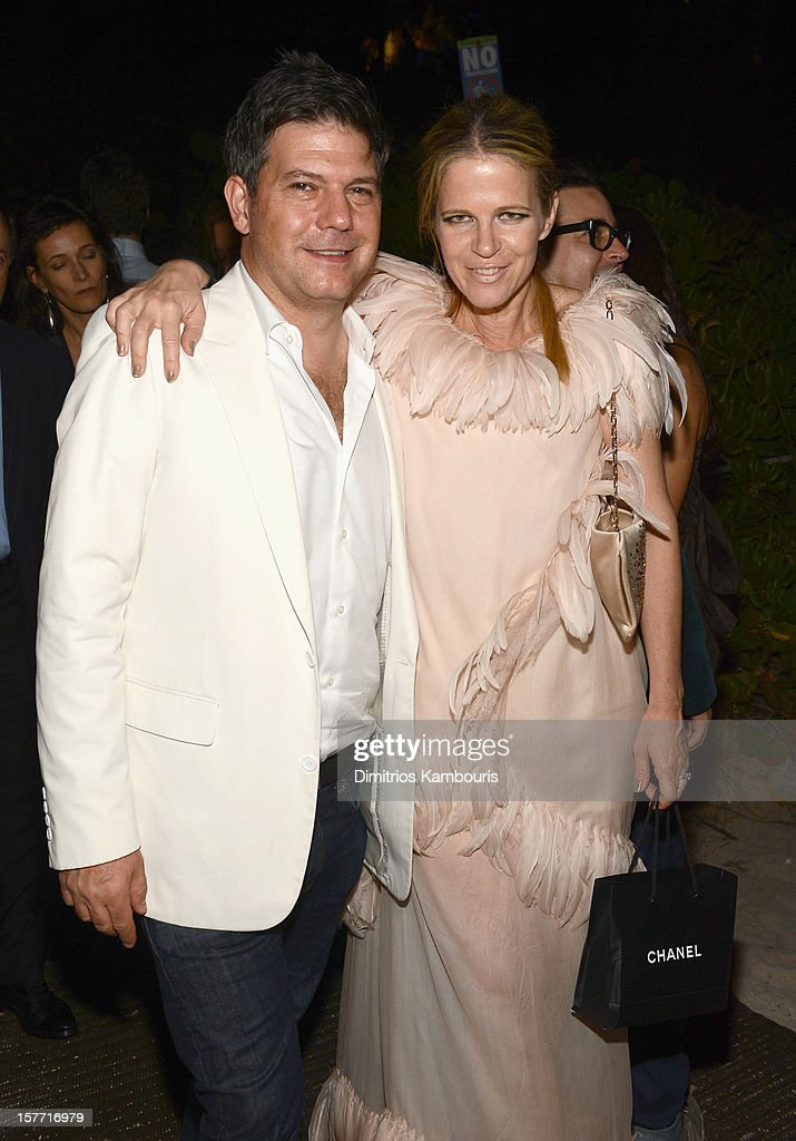 Co-Founder of Art Production Fund Yvonne Force Villarea attends a Beachside Barbecue presented by CHANEL hosted by Art.sy Founder Carter Cleveland, Larry Gagosian, Wendi Murdoch, Peter Thiel and Dasha Zhukova at Soho Beach House on December 5, 2012 in Miami Beach, Florida.