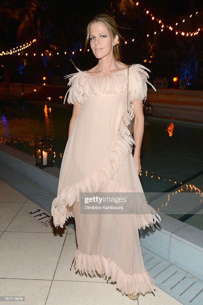 Co-Founder of Art Production Fund Yvonne Force Villareal attends a dinner and auction hosted by CHANEL to benefit the Henry Street Settlement at Soho Beach House on December 5, 2012 in Miami Beach, Florida.