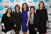 Cofounder of Athena Film Festival Melissa Silverstein president and CEO of the Paley Center for Media Pat Mitchell President of Barnard College...