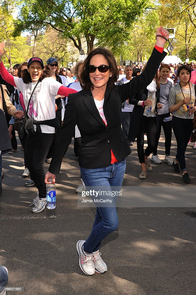 Co-Founder of EIF Lilly Tartikoff attends the 16th Annual EIF Revlon Run Walk For Women on May 4, 2013 in New York City.